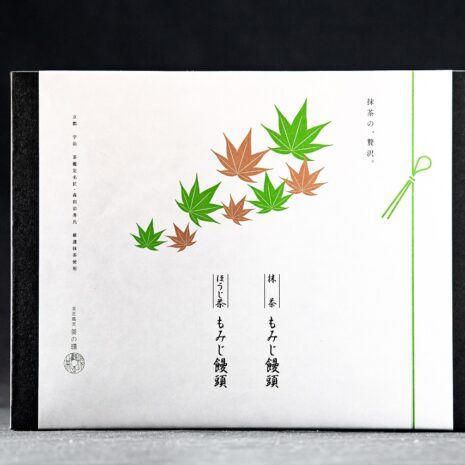 抹茶もみじ饅頭・ほうじ茶もみじ饅頭各4個入box